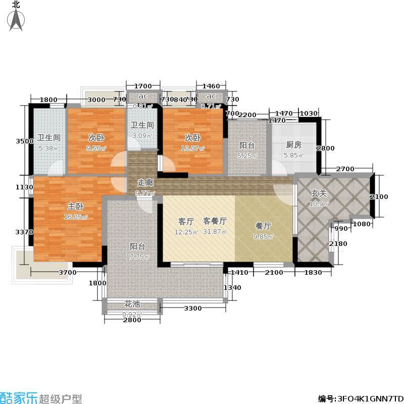 荣盛海湾郦都荣盛・海湾郦都6、7号楼11户型