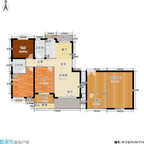 米兰风景3室0厅2卫0厨160.82㎡户型图