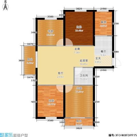 瑞和园4室0厅1卫1厨159.00㎡户型图