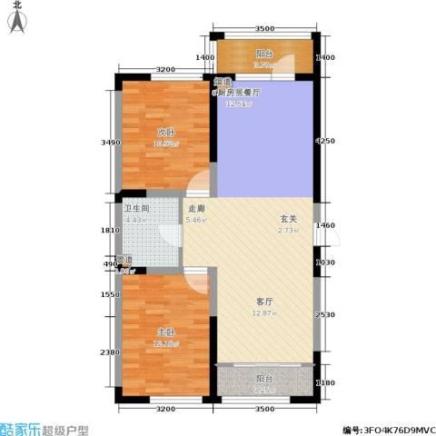 富佳新天地2室0厅1卫0厨103.00㎡户型图