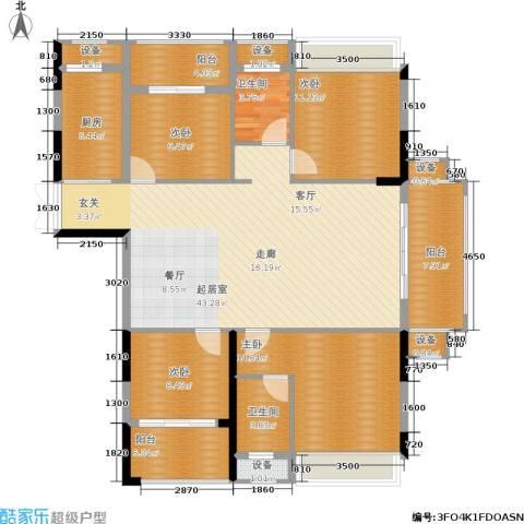 中盛圣地亚哥4室0厅2卫1厨140.00㎡户型图