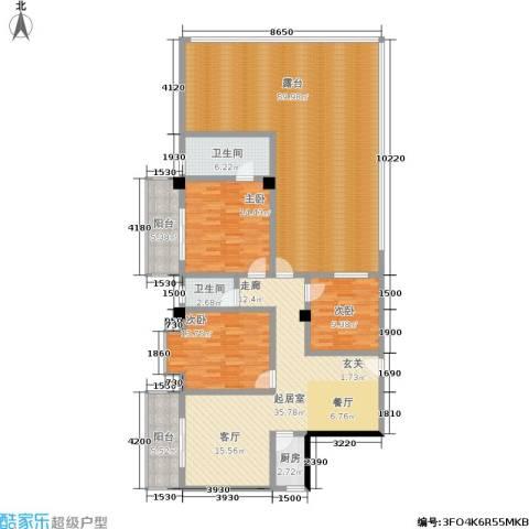 泰和新城3室0厅2卫1厨219.00㎡户型图