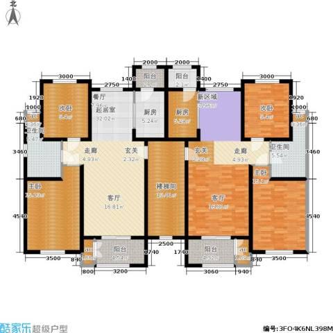 洛卡小镇三期4室0厅2卫2厨187.00㎡户型图