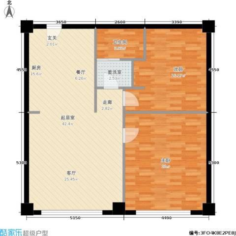 旺角花园2室0厅1卫0厨95.00㎡户型图
