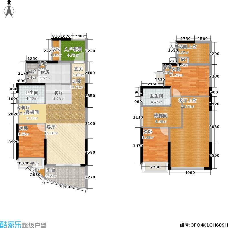中锴华章140.50㎡中锴・华章三期ZG02户型