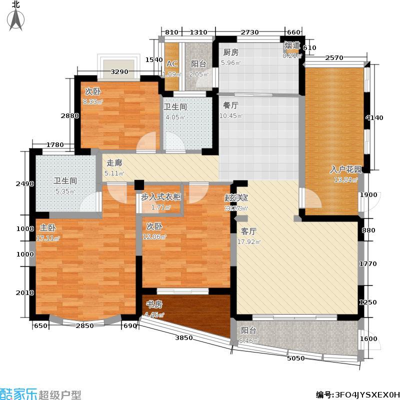 嘉乐嘉华国际嘉乐・嘉华国际�御3号楼中间套2阳台户型