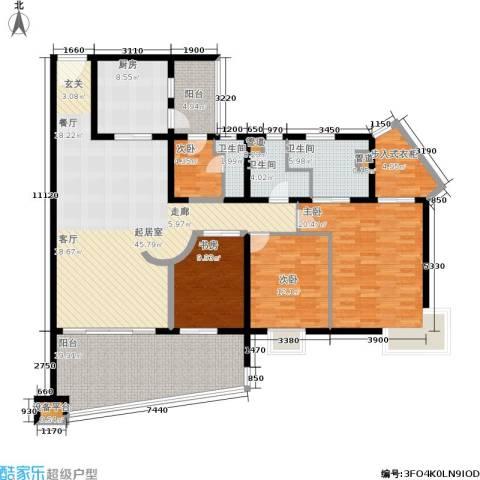 联洋年华4室0厅3卫1厨206.00㎡户型图