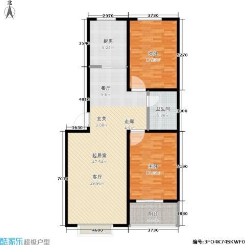 浩正�林湾2室0厅1卫1厨114.00㎡户型图