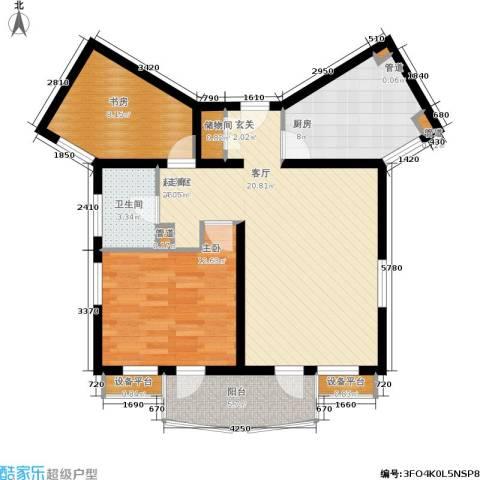 碧云东方公寓2室0厅1卫1厨78.06㎡户型图