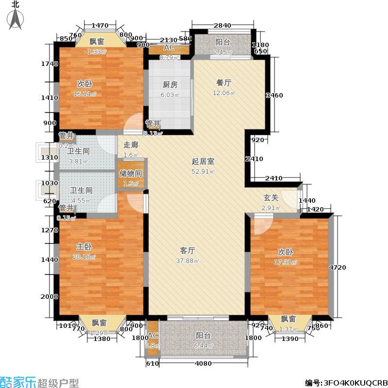公园养生豪庭149.94㎡面积14994m户型