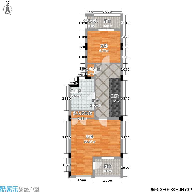叠墅ONE130.00㎡C二层面积13000m户型