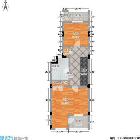 叠墅ONE2室0厅1卫0厨130.00㎡户型图
