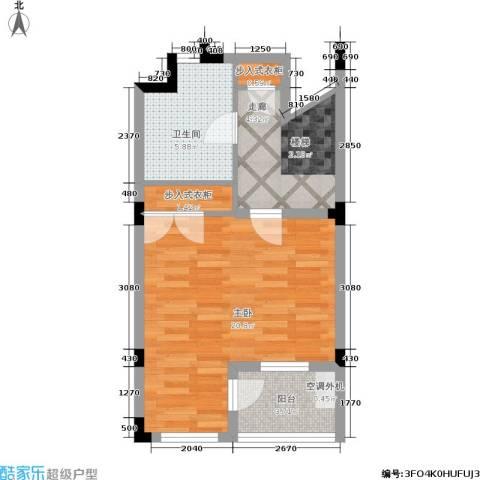 叠墅ONE1室0厅1卫0厨89.00㎡户型图