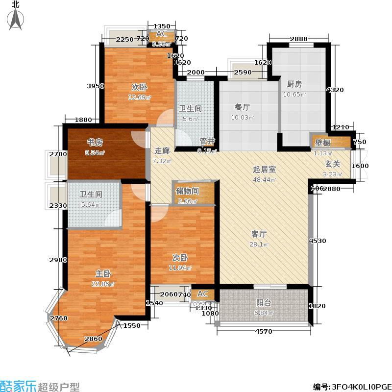春申景城157.50㎡上海面积15750m户型