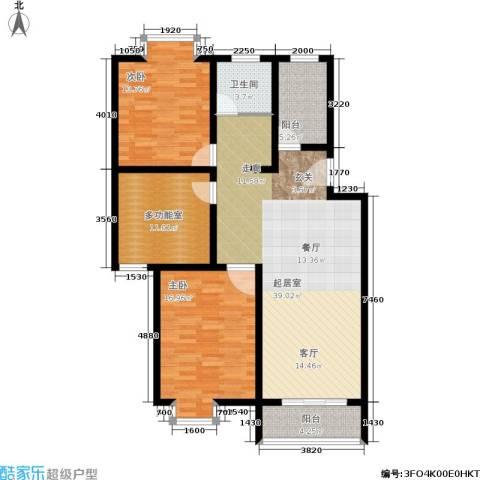 望燕名居2室0厅1卫0厨134.00㎡户型图