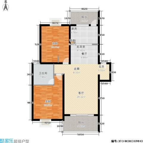 正阳世纪星城2室0厅1卫1厨135.00㎡户型图