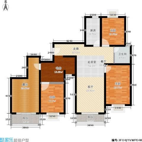 上大阳光乾和园3室0厅1卫1厨150.00㎡户型图