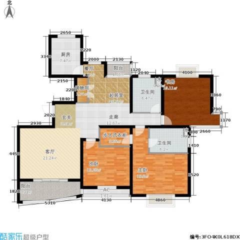 城市艺术季3室0厅2卫1厨150.00㎡户型图