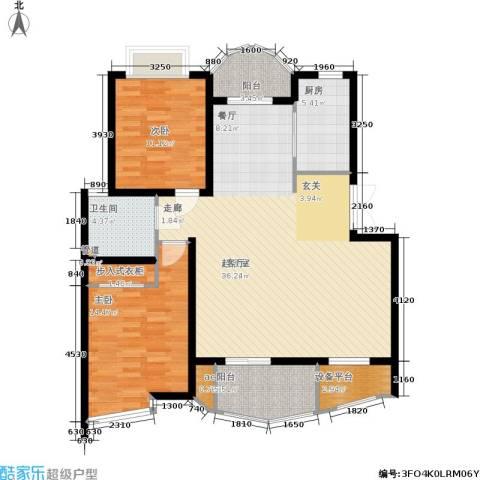 翡翠上南2室0厅1卫1厨107.00㎡户型图