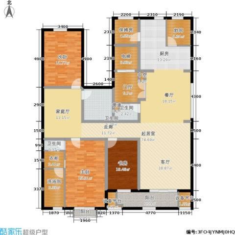天房天和园3室0厅3卫0厨206.00㎡户型图