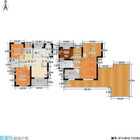 东方帕堤欧花园小城4室0厅2卫0厨190.00㎡户型图