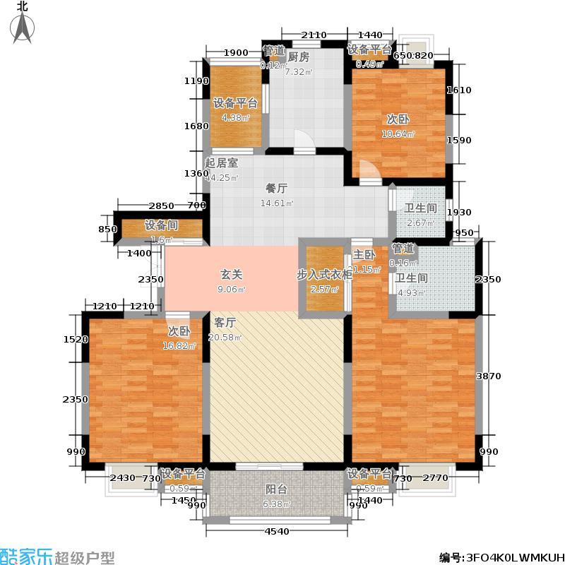 地杰国际城145.00㎡上海面积14500m户型