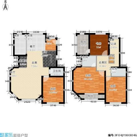 众众德尚世嘉4室0厅3卫1厨180.61㎡户型图