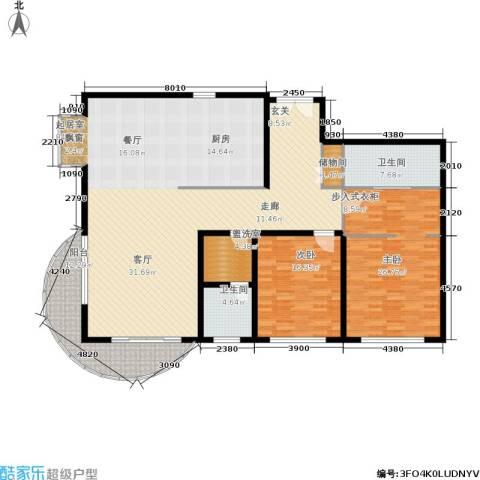 财富海景花园2室0厅2卫0厨175.00㎡户型图