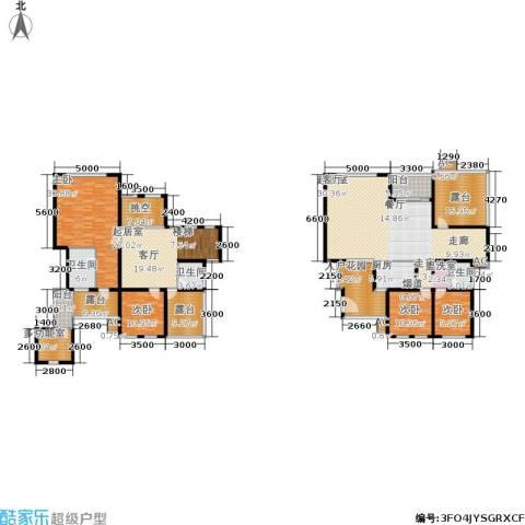 奇峰云邸4室0厅3卫1厨234.34㎡户型图