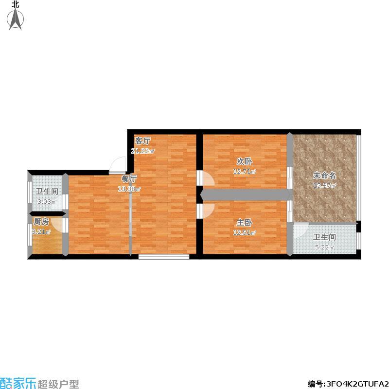 106方两室两厅11