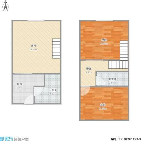 312018长江壹号3室1厅2卫1厨113.00㎡户型图
