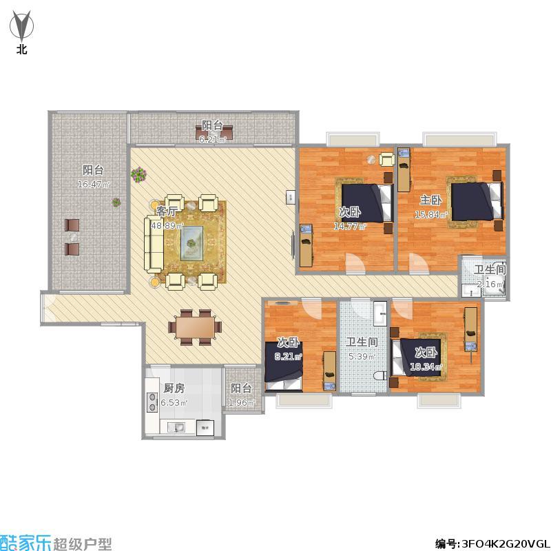 绿茵丰和家园146平家家顺13006636053刘远东绘图