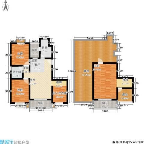 上大阳光乾和园3室0厅1卫1厨164.00㎡户型图