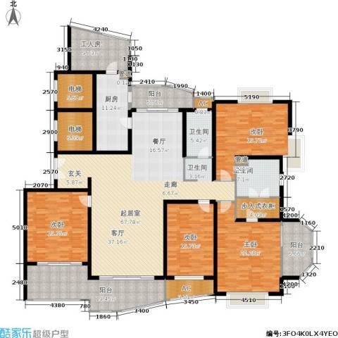 新外滩花苑4室0厅2卫1厨260.00㎡户型图