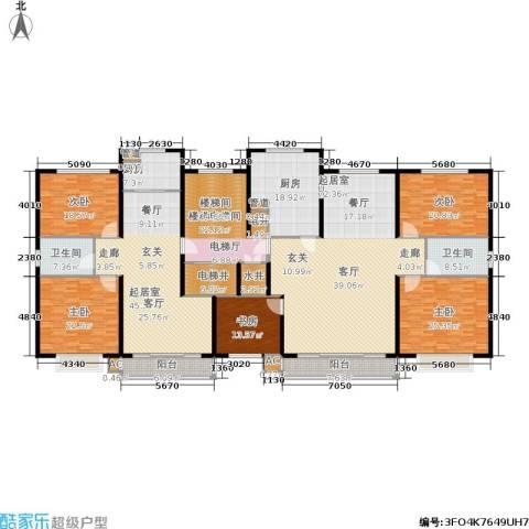 居都嘉苑5室0厅2卫2厨425.00㎡户型图