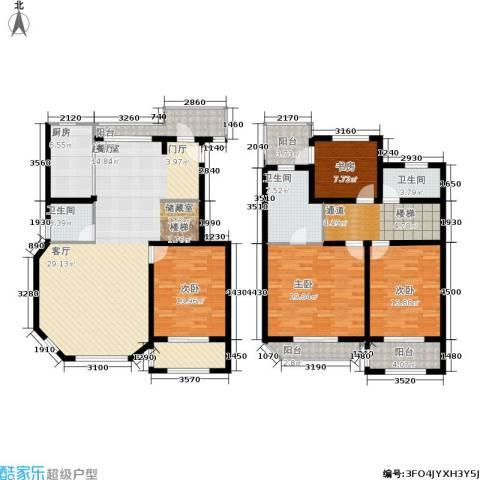 众众德尚世嘉4室0厅3卫1厨173.80㎡户型图