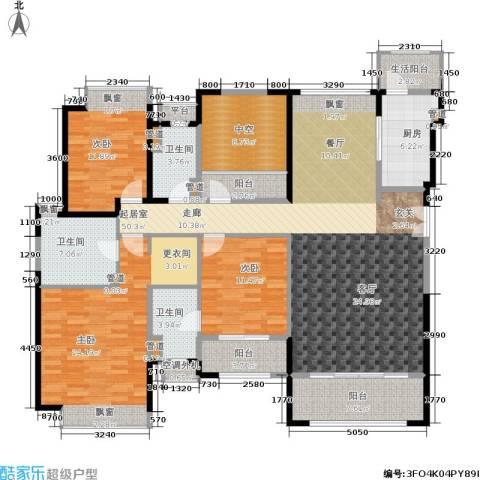 香悦四季(合景溪西里)3室0厅3卫1厨152.00㎡户型图