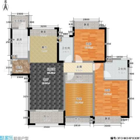 香悦四季(合景溪西里)2室0厅2卫1厨110.00㎡户型图