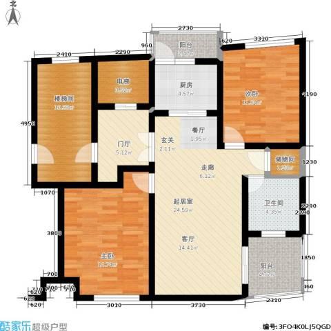 中房樱桃苑2室0厅1卫1厨127.00㎡户型图