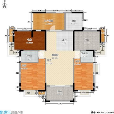 东方威尼斯3室0厅2卫1厨170.00㎡户型图