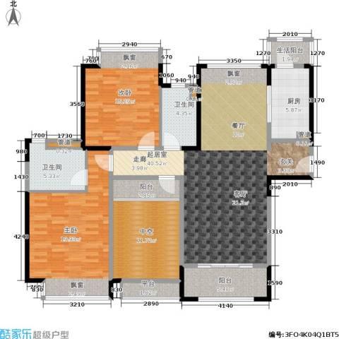 香悦四季(合景溪西里)2室0厅2卫1厨115.63㎡户型图