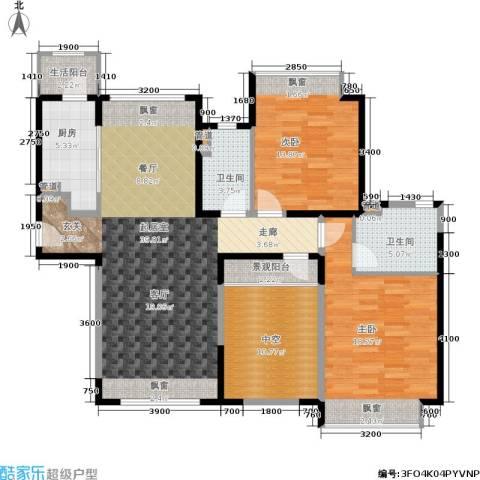 香悦四季(合景溪西里)2室0厅2卫1厨111.00㎡户型图