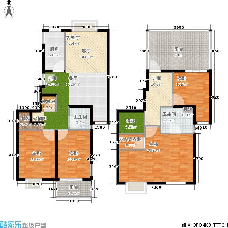 马陆清水湾公寓198.00㎡户型
