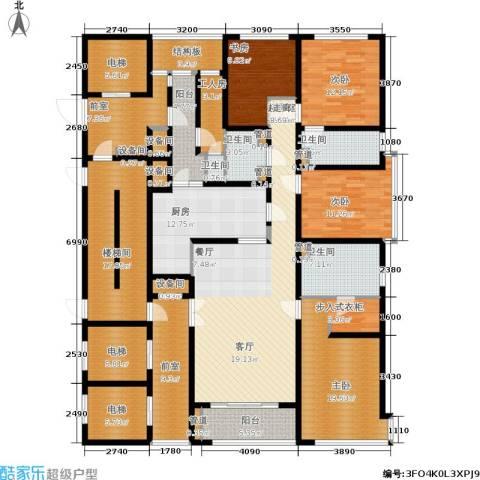 淮海晶华4室0厅4卫1厨222.00㎡户型图