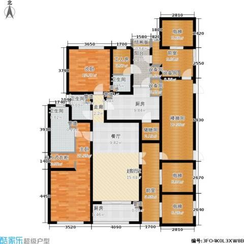 淮海晶华2室0厅3卫2厨183.00㎡户型图