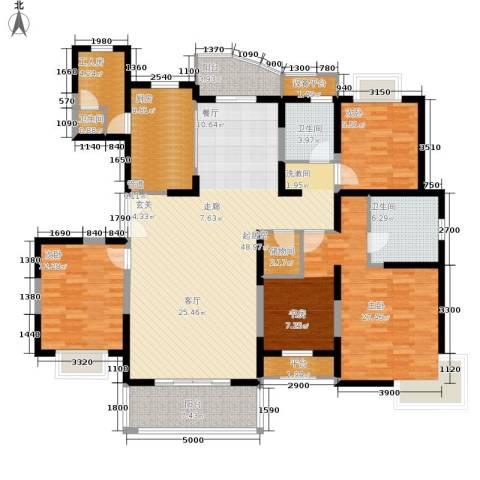海德苑3室0厅3卫1厨199.00㎡户型图