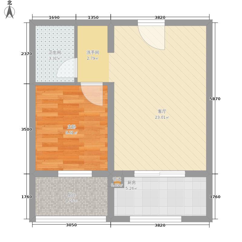 龙湖枫香庭127.00㎡面积12700m户型
