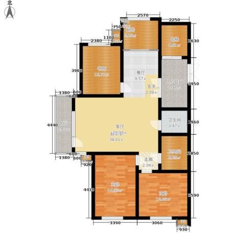 新加坡城3室0厅2卫1厨158.00㎡户型图