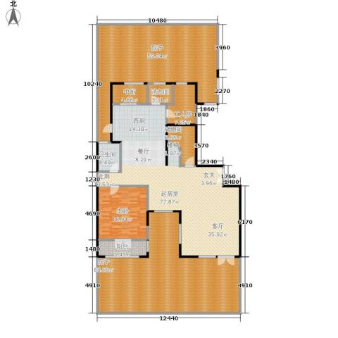 万城华府1室0厅1卫0厨256.04㎡户型图