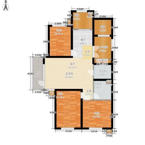 新加坡城3室0厅2卫1厨148.00㎡户型图